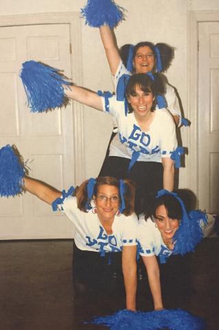 jewish cheerleading